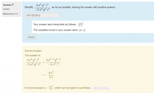 Cancelling Algebraic Fractions